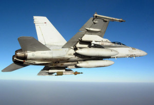 AIM-9X and F/A-18C