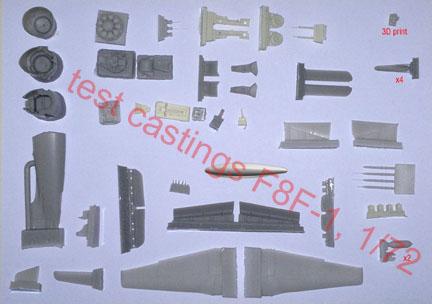 Bearcat 1:72 scale parts