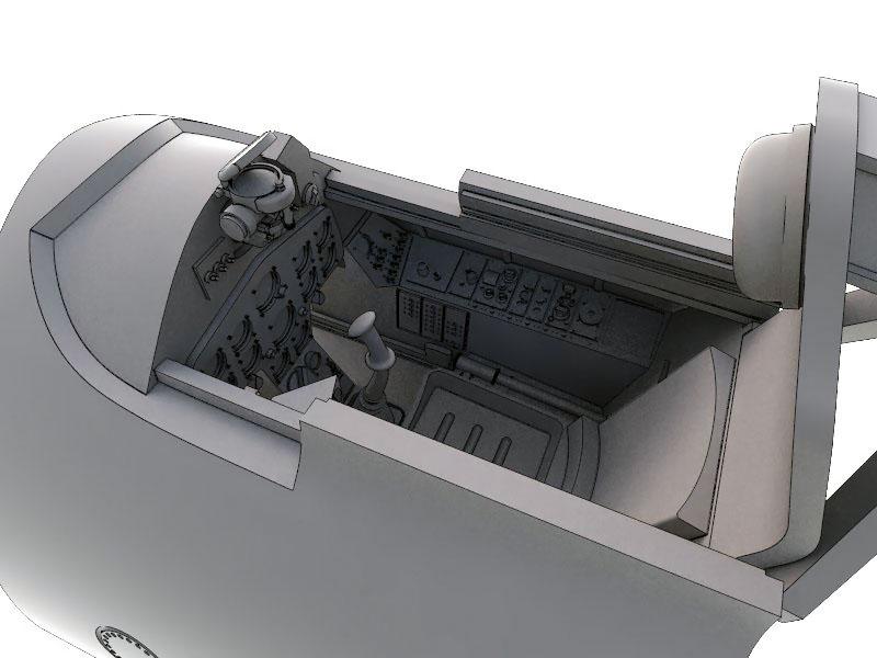 kabina F8F Bearcat