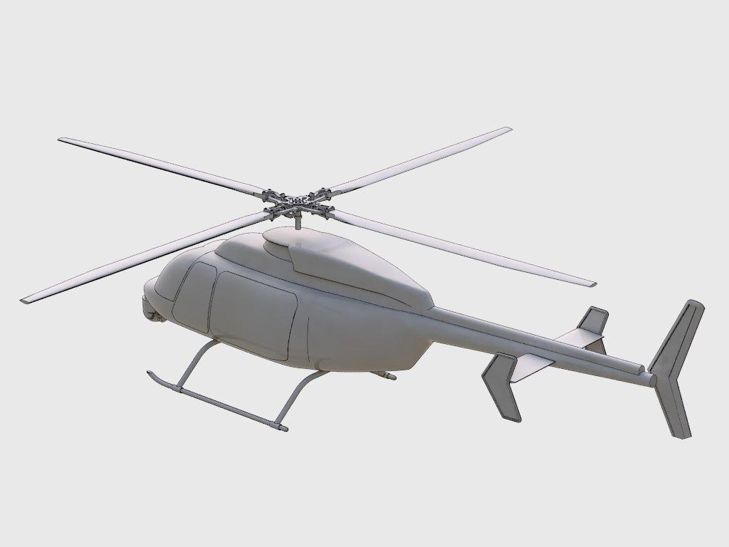 3D render MQ-8C model