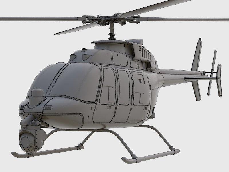 MQ-8C agressive look